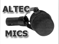Altec Microphone section